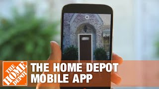 The Home Depot Mobile App- Augmented Reality