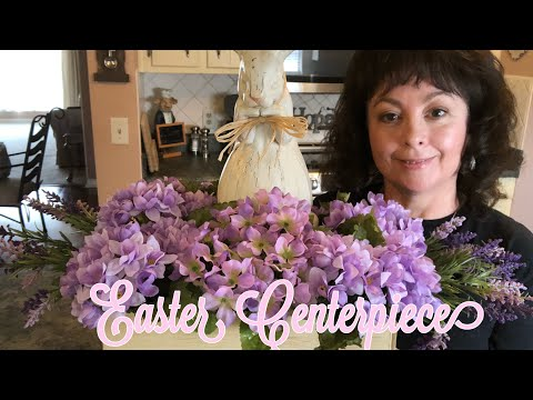 Easter French Country Table Centerpiece Diy 2019