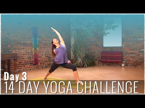 14-Day Yoga Challenge with Fiji McAlpine: Day Three