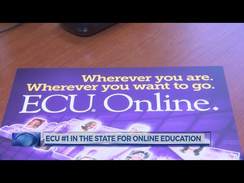 ECU #1 In the State for Online Education