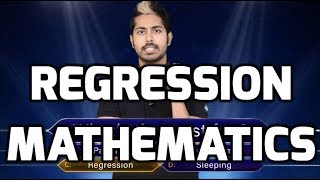 Regression Mathematics