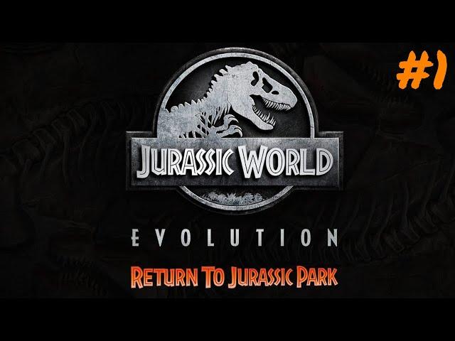 Jurassic World Evolution #1 🦖 Zurück zum Jurassic Park DLC 🦕 Lets Play Deutsch