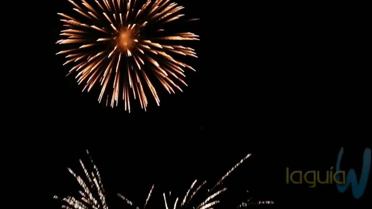 Fiestas De Ojos 2016 Castillo De Fuegos Artificiales Youtube