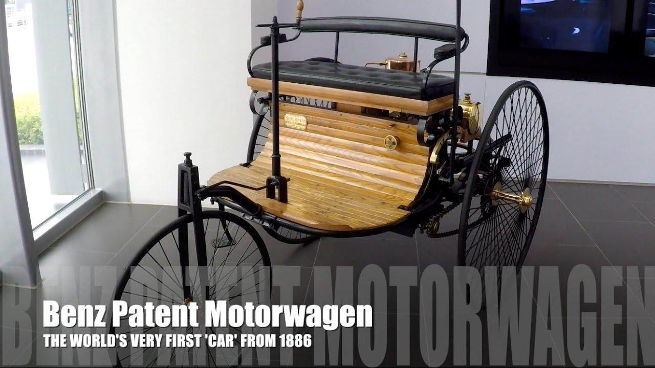 1886 Benz Patent Motorwagen Detailed Walk Around Review - Bobby Ang ...
