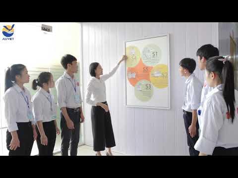 Hướng dẫn cho thực tập sinh về 5S tại trung tâm đào tạo