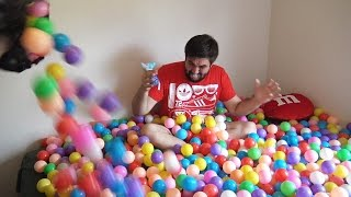 NEW !A LOT OF CANDY!!!! A LOT OF PLASTIC BALLS , 10 000 BALLS 2