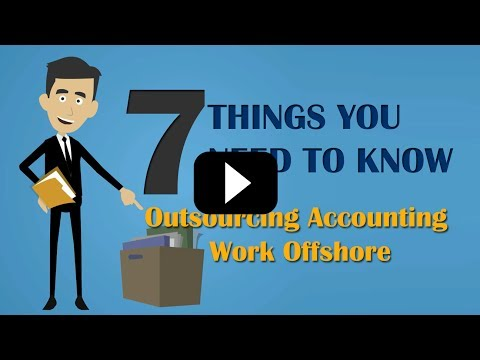 Outsourcing Accounting : Key Things About Outsourcing Accounting Work