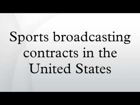 Sports broadcasting contracts in the United States