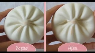 Jumbo White Bun Squishy Review + Squishy Experiment - Kawaiixcandy