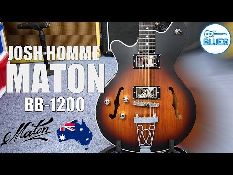 Maton BB 1200 JH Josh Homme Signature Electric Guitar Review Mp3