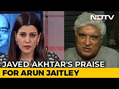 """Had Many Things In Common"": Javed Akhtar's Praise For Arun Jaitley"