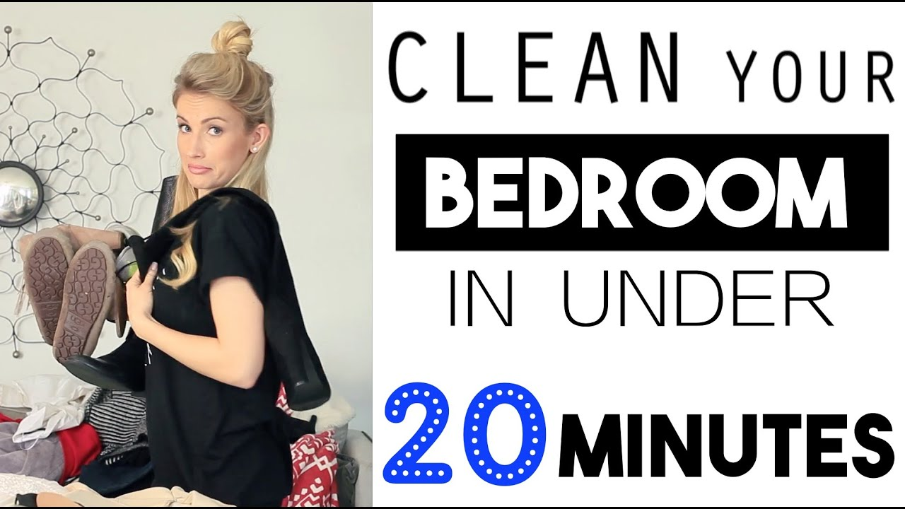 Organize clean your bedroom in less than 20 minutes - How to clean and organize a bedroom ...