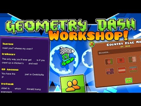 GEOMETRY DASH CO-OP! (Workshop Concept Video)
