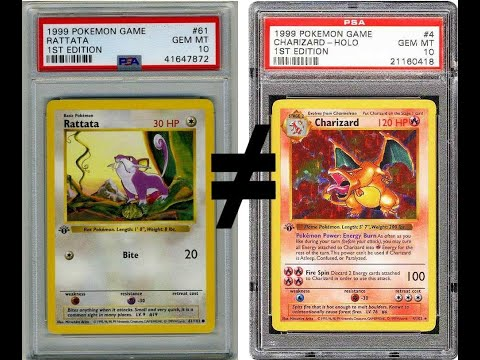 Investing VS Making Money - Market High - Charizard ≠ Ratatta - Crypto Fallacy - Enjoy Collecting