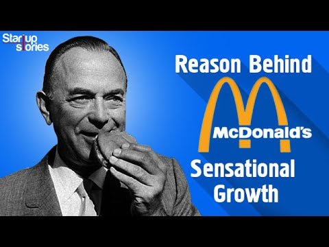 McDonalds Story | Ray Kroc Biography | McDonalds vs KFC | Startup Stories