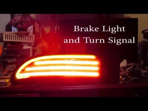 4th Gen Firebird Trans Am Custom LED Tail Light Preview