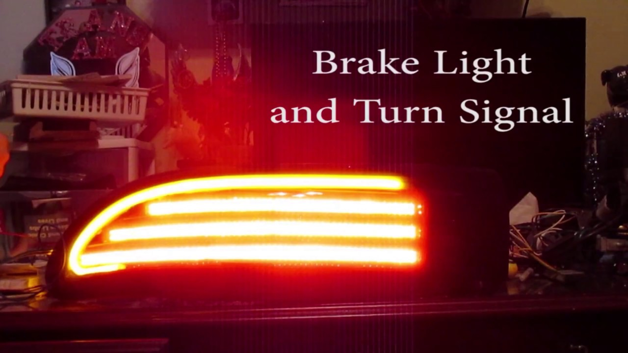 Camaro Trans Am >> 4th Gen Firebird Trans Am Custom LED Tail Light Preview - YouTube