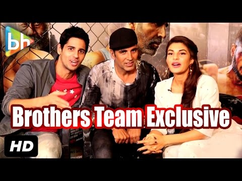 Exclusive: Akshay Kumar | Sidharth Malhotra | Jacqueline's Full Interview On Brothers | Rapid Fire