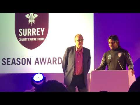 Sangakkara's Speech At Surrey End Season Awards