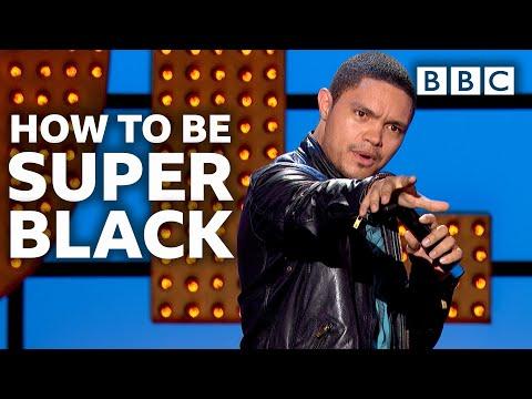 When Trevor Noah went superblack | Live At The Apollo - BBC