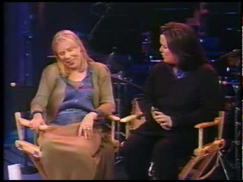 Joni Mitchell with Rosie O'Donnell