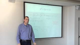 Solving Cubic Equations (3 of 5: Depressed Cubics) - by Gavin Sinclair