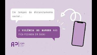 #AViolênciaNoNamoroNãoFicaFechadaEmCasa