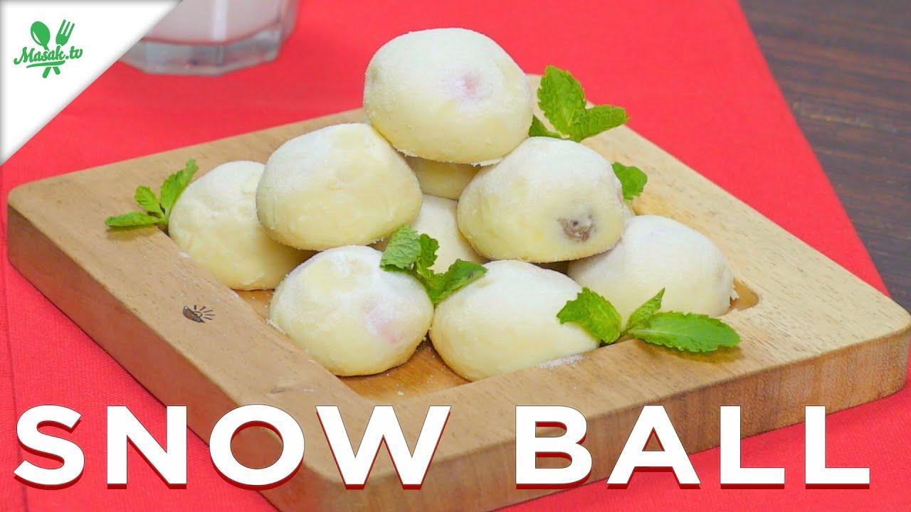 Resep Snowball Cookies