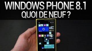 Windows Phone 8.1 : Quoi de neuf ? (dont Cortana) - par Test-Mobile.fr