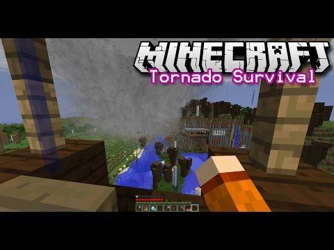 Minecraft Tornado Survival ~ Season 2, Episode 13 (Tornado chase in the sky!)