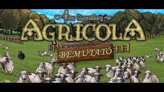 Agricola - társasjáték bemutató