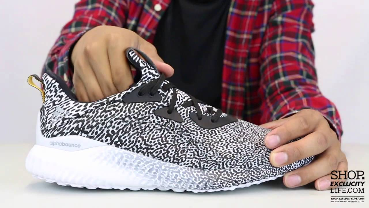 7c1289a226461 Men   Women Adidas Alphabounce Aramis Unboxing Video at Exclucity ...