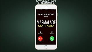 """Enjoy marimba remix of the latest song """"marmalade"""" by macklemore feat. lil yachty as your ringtone: http://smarturl.it/marmalademnd best iphone ringtone t..."""