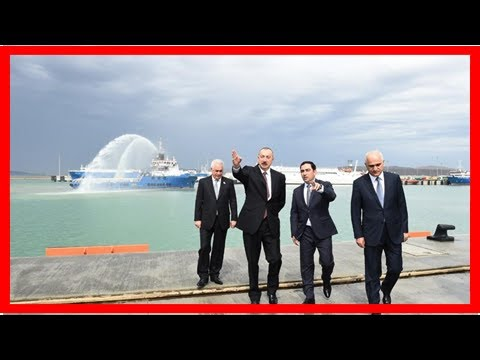 Breaking News | President Aliyev attends opening of Baku Int'l Sea Trade Port Complex (PHOTO)