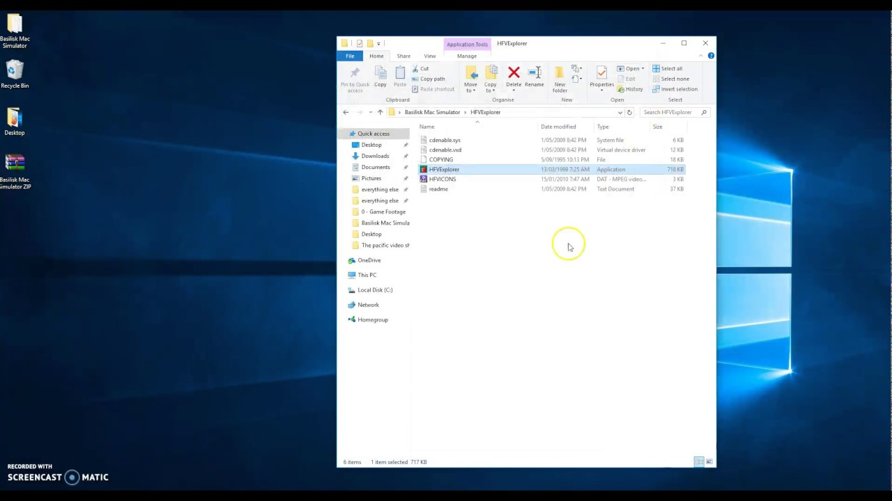 basilisk mac emulator windows 7