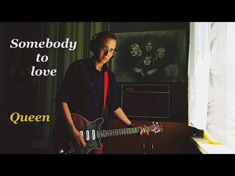 "CHECKMATE Somebody to love - Queen ""guitar cover"""
