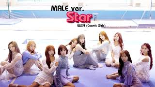 Cover images [Male ver.] Star_우주소녀 WJSN (Cosmic Girls)