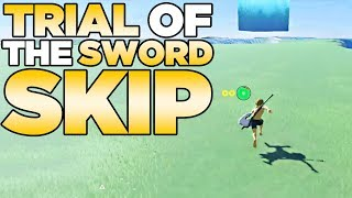 Trial of the Sword Skip in The Legend of Zelda: Breath of the Wild | Austin John Plays