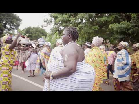 Prelude to the yam festival in the Volta Region of Ghana