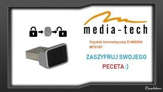 Zaszyfruj swój komputer! :) Ciekawy gadżet Media-Tech E-nigma