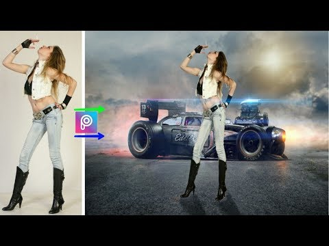 Sports girl photo manipulation || Picsart new editing 2018 tutorial