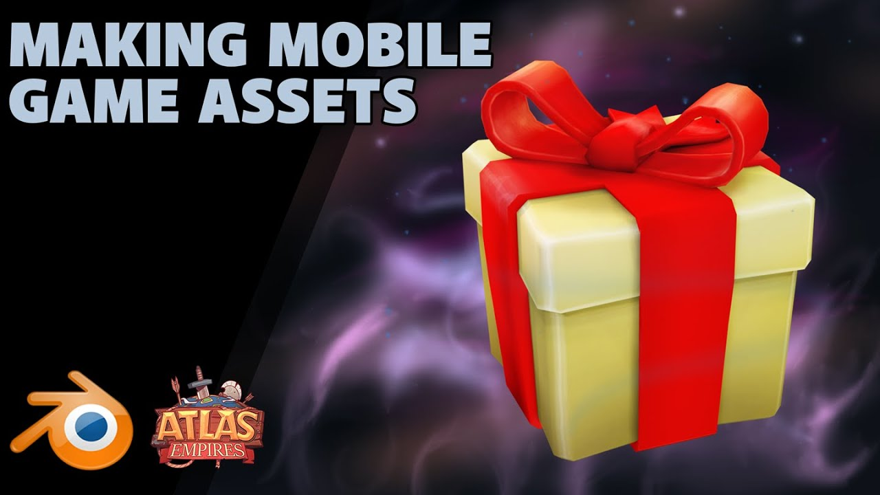 Making Mobile Game Assets | The Shop Icon | Atlas Empires
