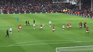 First vid and man utd vs fulham atmosphere