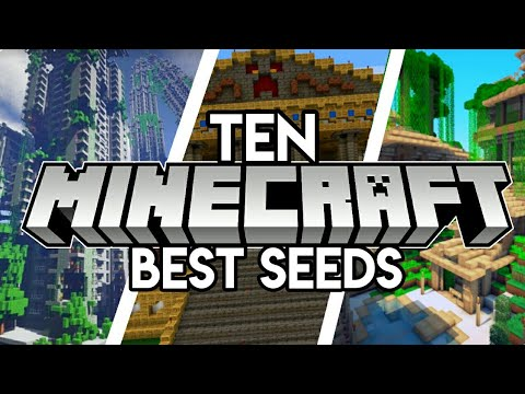 Top 10 Best Mcpe Seeds 2020 1 16 Minecraft Bedrock Pe Xbox Switch Ps4 Windows 10 Youtube