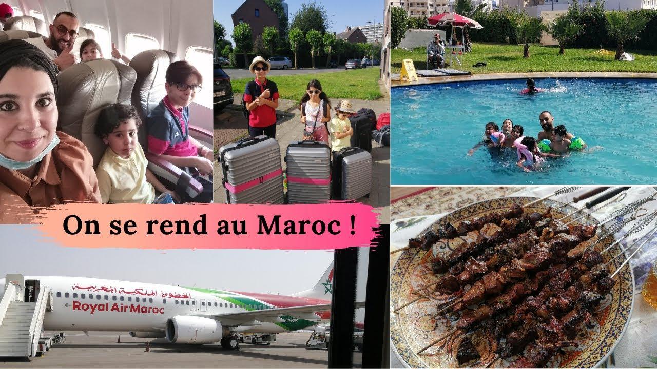 Vlog: on part au Maroc, Eid El adha + une journée à Mohamedia