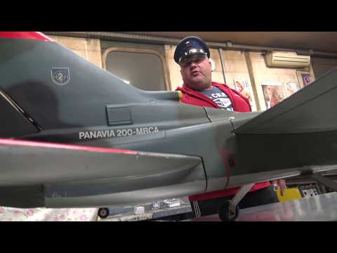 Tornado IDS Panavia 1.6m Vintage glow prop jet with Webra 61 engine First look