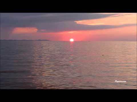 Sunset, Zaton, Croatia (real time)