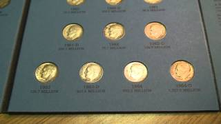 Complete Roosevelt (silver) Dime Collection 1946-1964