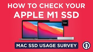 How To Check Y๐ur APPLE M1 SSD Usage Data