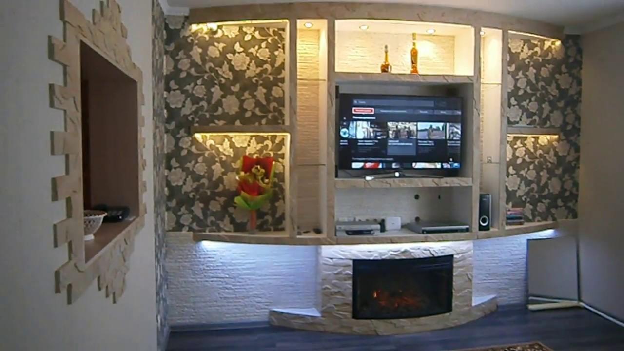 камин со стенкой в гостиной » — карточка пользователя Yna Y. в ... | 720x1280
